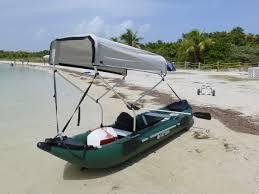 white boat topic canoe bimini top diy