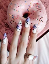 Canada Day Gel Nail Designs Nail Art Design Technician School Blanche Macdonald