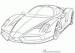 Kleurplaten Ferrari Kleurplaten Kleurplaatnl