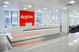 office reception interior. custom reception counter from a1officefitouts desk pinterest desks and office designs interior