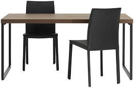 ... Contemporary dining table / MDF / steel / rectangular LUGO BoConcept ...