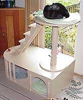 Cardboard Cat Kitty Condo Latheinduced Design Extravagance The Tool Crib The Tool Crib 21 Free Cat Furniture Plans Free Plans For Cat