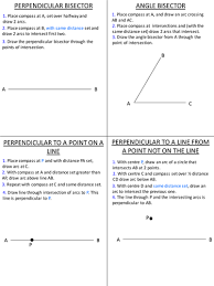 How to bisect an angle with  pass and straightedge or ruler furthermore Bisector   What is a Bisector   Math TutorVista together with Median  Altitude  and Angle Bisectors of a Triangle   Video besides Des Orellana  4 24 12 What are altitudes   perpendicular bisectors in addition Medians  Altitudes and Perpendicular Bisectors furthermore Perpendicular Bisector of a Triangle   Definition   Ex les also Bisectors of Triangles   Wyzant Resources as well  additionally  likewise Chapter 5 Relationships in Triangles moreover Special line segments in triangles worksheet. on perpendicular and angle bisectors worksheet