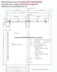 supreme door framing dimensions chic excellent closet width
