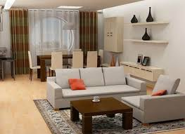 For Small Living Room Layout Fine Living And Dining Room Interior Design With Simple Layout
