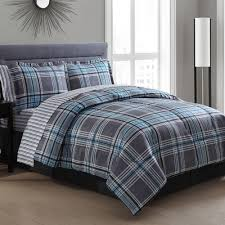 comforter set bedspreads and comforters red plaid duvet cover gray