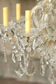 italian crystal chandelier eight light maria style vintage in good condition for chandeliers antique