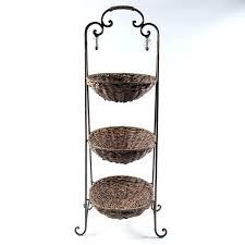 tiered basket stand 2 tier countertop fruit