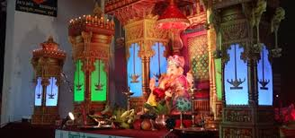 eco friendly ganpati makhar in mumbai ganesha decoration items