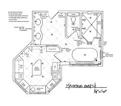 Master Bath Closet Clean Labeling The Little Luxury Features Small Master Bathroom Floor Plans
