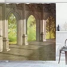 ambesonne fantasy shower curtain