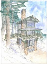 fire lookout house plans 1474 best lake house