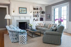 country cottage style living room. Living Room Country Cottage Rooms Pastel Blue Walls Gold Wall Sconces Spacious Beige Damask Arms Sofa Style