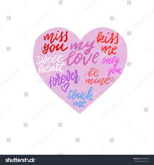 Quote Inside A Quote Pink Heart Calligraphy Quotes Inside Great Posters Stock