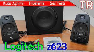 Logitech Z623 2+1 THX® (Kutu Açılımı & İnceleme & TEST) | HD