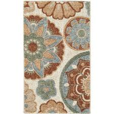 better homes and garden rugs. better homes and gardens suzani faux hook medallion area runner rug - walmart.com garden rugs