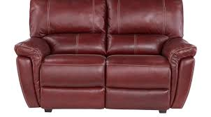 browning furniture. Browning Bluff Red Leather Loveseat Furniture K