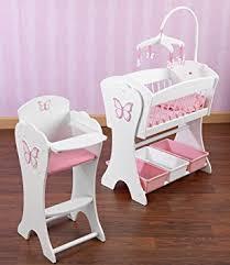 Amazon Kidkraft Pretty Pink Butterfly Doll Furniture Set