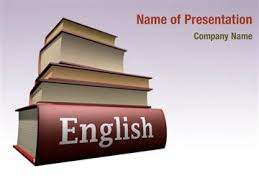 English presentation ppt