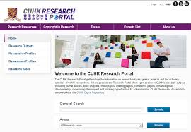 academic information management system research portal  showcasing their impact and fostering opportunities for collaborations cuhk theses and dissertations are available at the cuhk digital repository