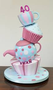 12 Birthday Cakes Designs Tops Photo How To Make Tea Party Cakes