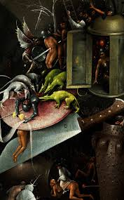 bosch the garden of earthly delights. Hieronymus Bosch - Garden Of Earthly Delights, Detail, C.1500 The Delights L