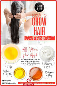 today i will show you 2 diy hair masks that will help your hair to grow