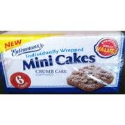 Entenmanns Mini Cakes Crumb Cake Calories Nutrition Analysis