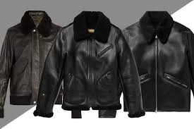 how to a men s leather jacket