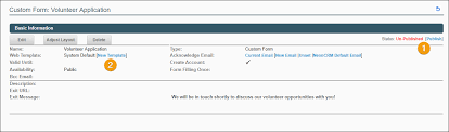 Volunteer Satisfaction Survey Template Custom Forms Neoncrm Support Center