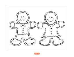 Gingerbread Coloring Sheets Trustbanksurinamecom