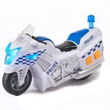 <b>HTI Полицейский мотоцикл</b> Teamsterz свет, звук купить в ...