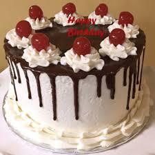 Choco Vanilla Birthday Cake Winni
