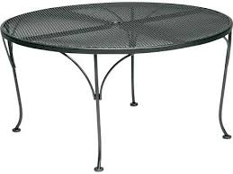 diy round outdoor table. Round Outdoor Coffee Table Mesh Wrought Iron With Umbrella Hole Diy Pallet H