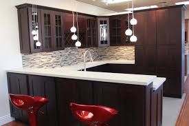 kitchen backsplash glass tile dark cabinets. Perfect Cabinets Dark Cabinet Kitchens New Kitchen Backsplash Glass Tile Cabinets  On