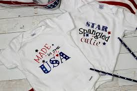 This is a personal use svg file and it's perfectly compatible with cricut explore, silhouette cameo, brother. Baby 4th Of July Outfit Diy Onesies With Free 4th Of July Svg Files Leap Of Faith Crafting