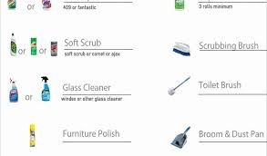 cleaning supplies list bar inventory spreadsheet and cleaning supplies list northurthwall