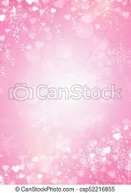 pink snowflake background. Simple Snowflake Gradient Pink Background With Snow Snowflake And Hearts Border   Csp52216855 Inside Pink Snowflake Background G