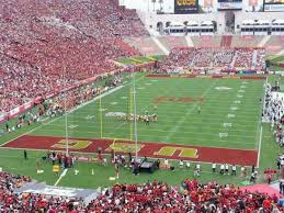 Los Angeles Memorial Coliseum Section 313 Row 6 Home Of
