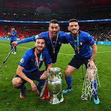 "UEFA EURO on Twitter: ""🐺 Roma heroes 🏆 EURO 2020 winners 🇮🇹 Cristante,  Spinazzola, and Florenzi 👏 #EURO2020… """