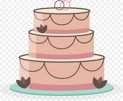 Wedding Cake Torte Birthday Cake Vector Hand Painted Wedding Cake