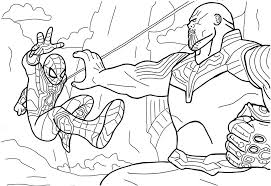 You might also be interested in coloring pages from marvel's the avengers, captain america categories. Thanos Coloring Pages Coloring Home