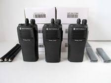 motorola walkie talkie cp200. 3 motorola radius cp200 vhf radios w/ new batteries \u0026 free programming - nice ! walkie talkie t