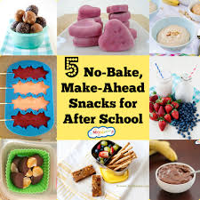 5 no bake make ahead after school snacks