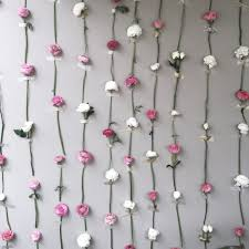 Flower Wall Diy Flower Wall Thrifts And Threads