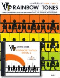 Rainbow Tones Book 2