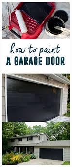 how to level a garage doorBest 25 Paint garage doors ideas on Pinterest  Front door porch
