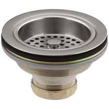 kohler sink strainer basket. KOHLER Duostrainer 412 In Sink Strainer Vibrant Stainless Throughout Kohler Basket