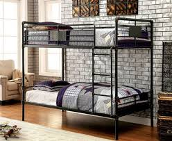 industrial style loft bed. Unique Industrial Industrial Piping Style Metal Bunk Bed Inside Loft Just Beds