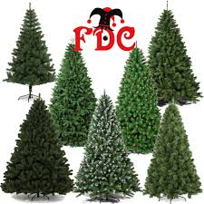Artificial Luxury Christmas Xmas trees assorted styles 1.8m 6ft and 2.1m  7ft | eBay